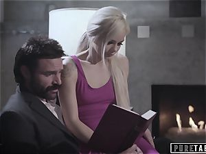 pure TABOO weirdo Parents pulverize bashful Foster daughter