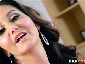 Ava Addams torn up in her warm gash