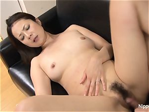 chinese mummy porked rigid while her buddy tapes it