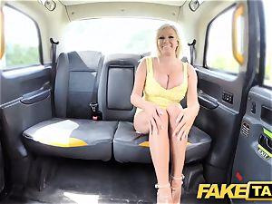 fake cab massive globes towheaded Michelle Thorne