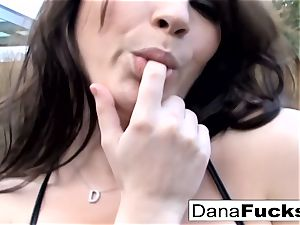 Dana gargles his knob and takes it up the donk