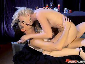 Satanic fuck-a-thon ritual with Samantha Rose