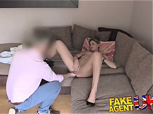 FakeAgentUK climaxes ass fucking lovemaking and spraying in interview