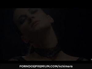 xCHIMERA - voluptuous stunner vag internal cumshot in fetish sequence