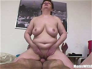 Bigtit huge Mama ass-fuck fucked By youthfull dick