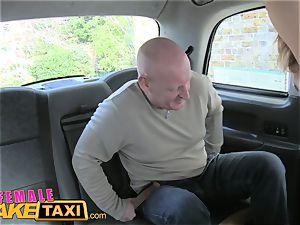 damsel fake cab Cabbie likes paramedics massive pipe