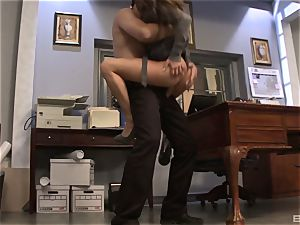 Rachel Roxx was hired because of her thick bra-stuffers