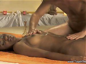 An Advance fingerblasting and body rubdown