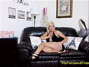 jism on Mommy's mammories with Ms Paris Rose