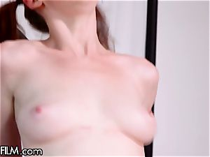 DevilsFilm 18yo red-haired shows of her Sexual skills