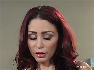 wifey Lezley Zen gets vengeance on super-sexy masseuse Monique Alexander