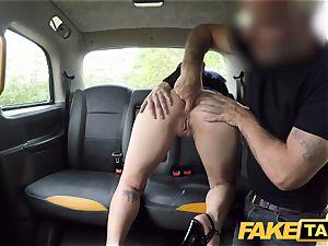 faux cab Spanish doll Liz Rainbow enjoys assfuck