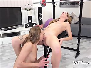peeing lesbians Alexis Crystal And Barbara edible