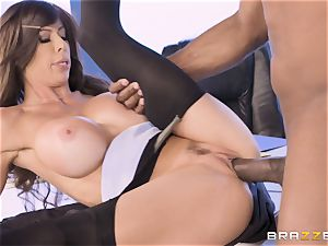 Alexis Fawx plowed by meaty big black cock