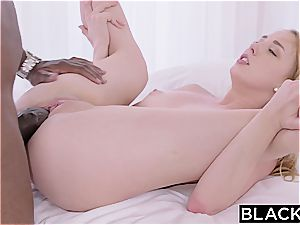 Spoiled nubile tart gets a rich ebony sugar daddy and loves the bone