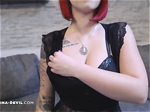 super hot Nina in killer lingerie