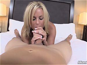 super-hot blondie mummy internal ejaculation sheer pleasure