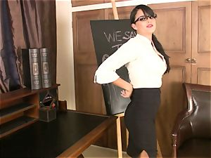 muddy schoolteacher Sasha whip gets too scorching to handle for something wild