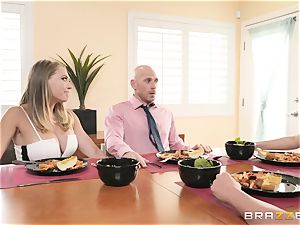 Phoenix Marie and her damsels playing