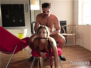 TOUGHLOVEX small Sophia grace wants to practice Karl