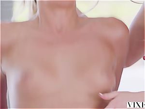 Johnny Sins gives two luxurious blondes numerous orgasms