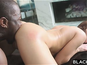 BLACKED nubile Hooks Up With bbc And freaks Out boyfriend!