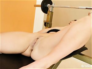 Work out between buddies leads to some all girl fun