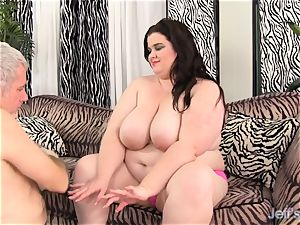 immense titted plus-size Holly Jayde pounded great