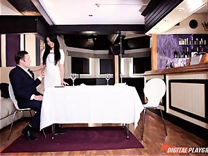 crazy sumptuous Anissa Kate rectally rammed in the douche