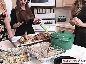 Brooklyn pursue, Nicole Aniston and Summer Brielle porks