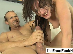 Jennifer milky gives a super firm blow-job
