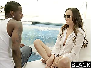 BLACKED Bored gf Victoria Rae black plumbs a bbc