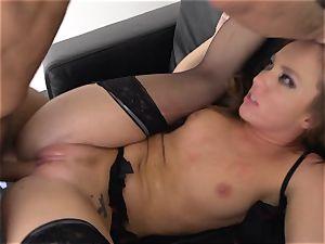 Maddy OReilly slammed full in her undergarments