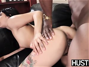 tattooed babe Gina Valentina cheats with vulva total of bbc
