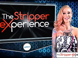 The StripperExperience- Sarah Jessie fuckin' a massive chisel